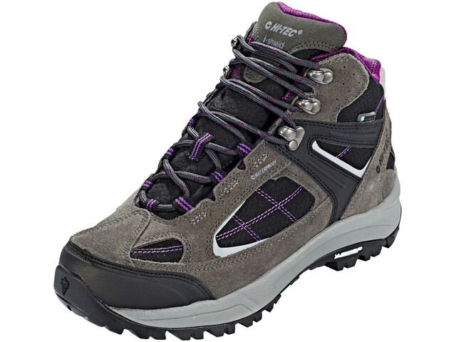Hi-Tec Altitude VI Lite Mid i WP Shoes Women charcoal/black/amaranth